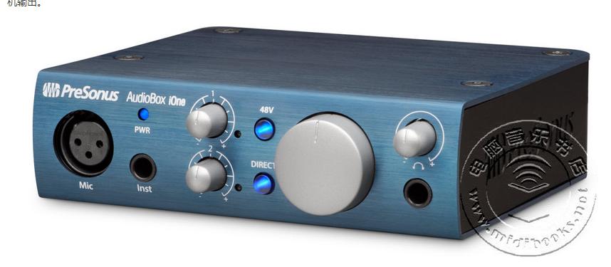 PreSonus发布两款新的音频接口AudioBox iOne和AudioBox iTwo