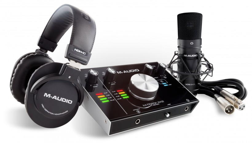 M-Audio 推出 M-Track 2×2 Vocal Studio Pro 人声录音套装