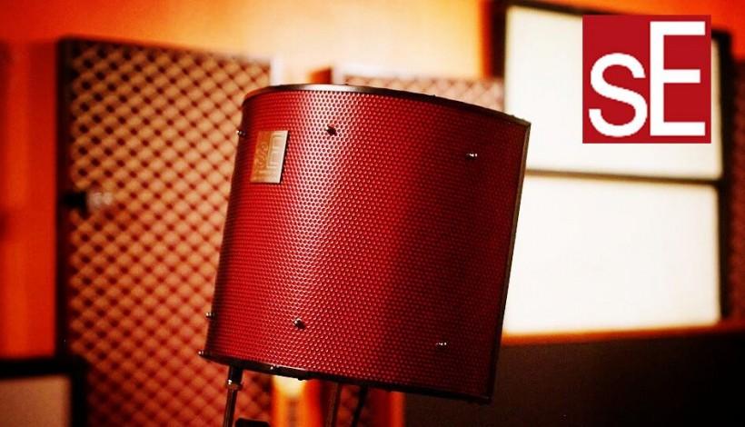 sE Electronics RF Pro评测 - 家庭工作室中的声学处理设备