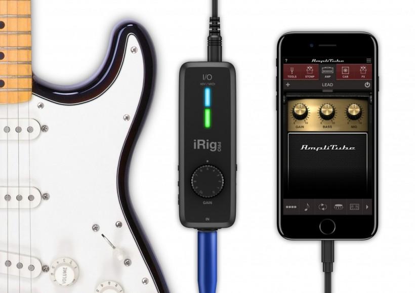 IK Multimedia 正式发售全能型音频 / MIDI 接口 iRig Pro I/O