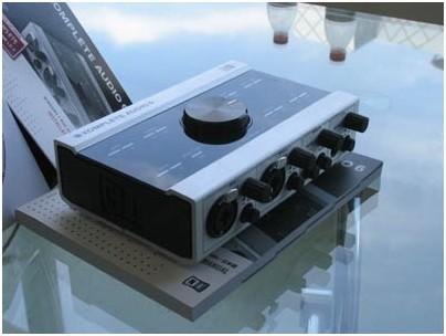 NI KOMPLETE AUDIO6音频卡对比评测和使用感受