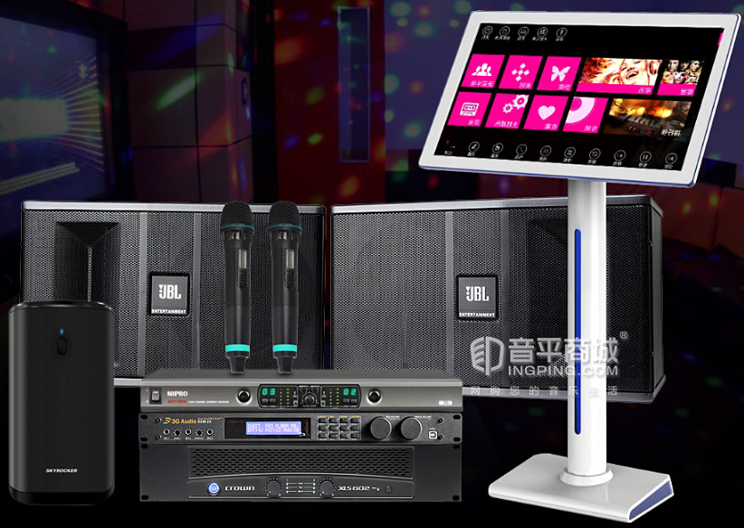 JBL ki82音箱搭配 皇冠 XLS 602D功放 kTV套装