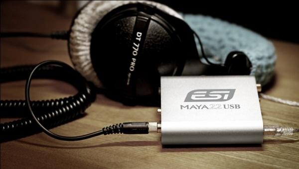 ESI MAYA22 USB 声卡使用感受