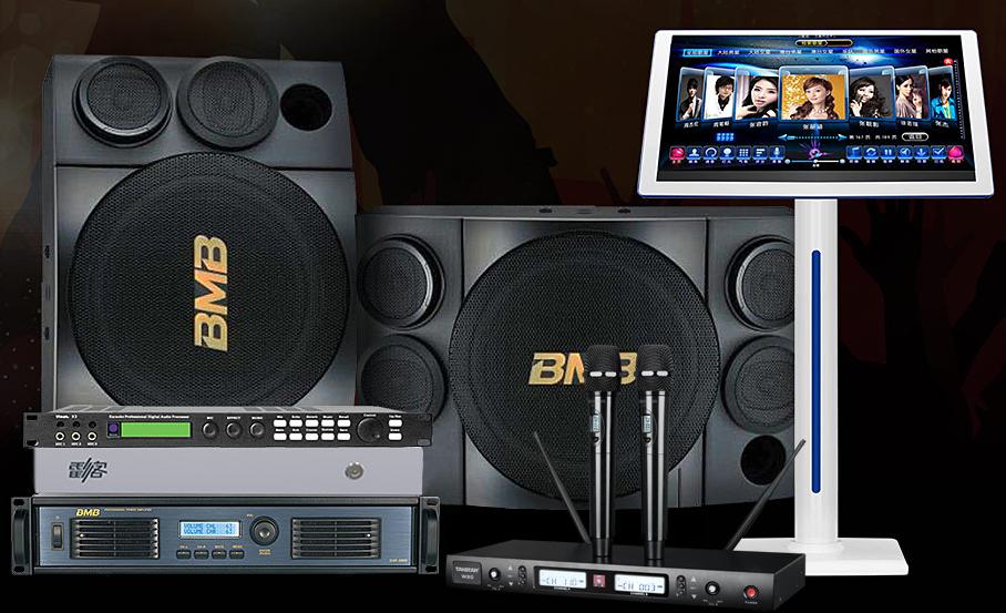 BMB DAP-5000功放搭配BMB CSE310音箱 KTV套装