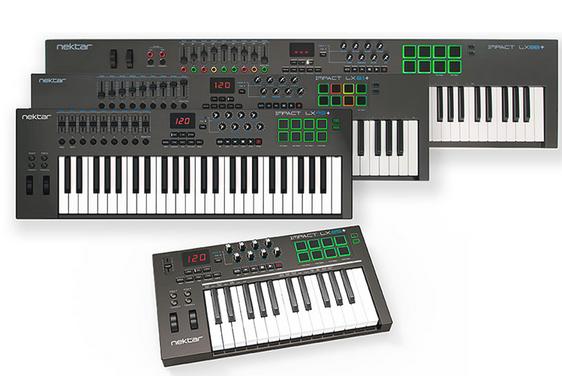 Nektar LX88+ MIDI 键盘功能演示——控制你的DAW