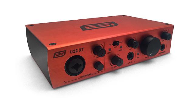 ESI U22XT 音频接口驱动重大更新