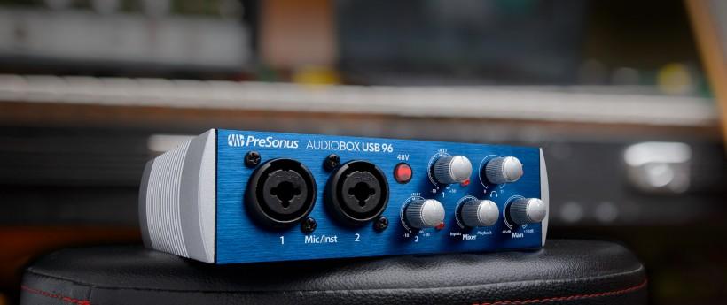 Presonus 发布最『硬』的便携声卡 AudioBox USB 96