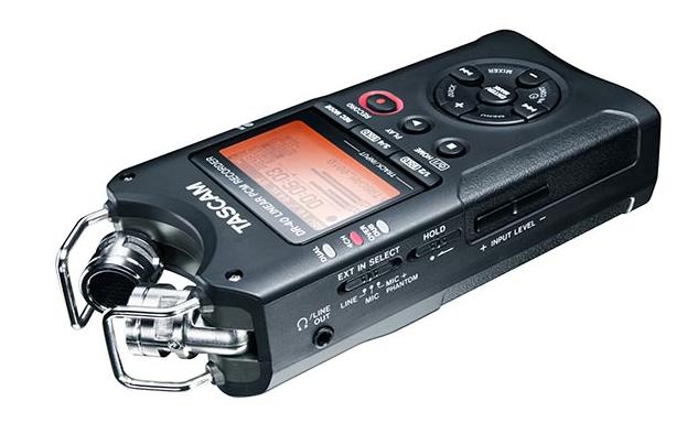 TASCAM DR-40 录音机使用体验