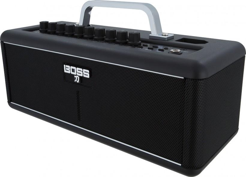 无形之刀:BOSS 发布世界上一台完全无线化的吉他音箱 Katana-Air