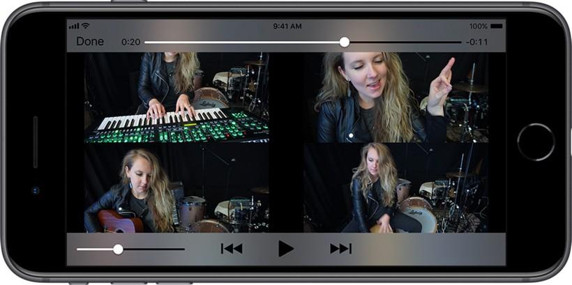 Roland 让你用 4XCAMERA 轻松在手机上创作多人演奏视频