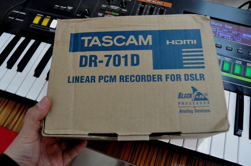 影视同期录音设备TASCAM DR-701D 便携式录音机简评与操作视频