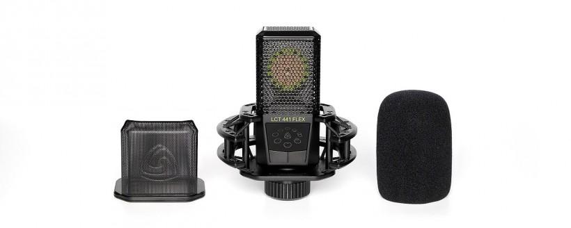 Lewitt 发布 LCT 441 Flex 多指向性工作室话筒