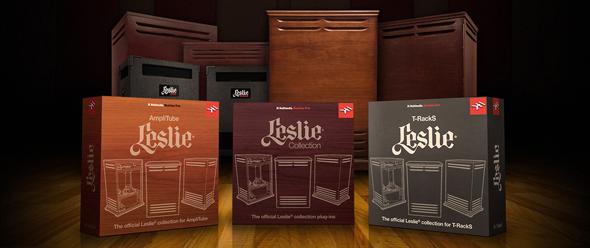IK Multimedia、美国 Hammond 及日本铃木乐器联合发布 Leslie for AmpliTube 及 T-RackS Mac/PC版