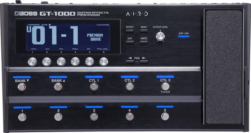 BOSS 发布 GT-1000 吉他效果处理器