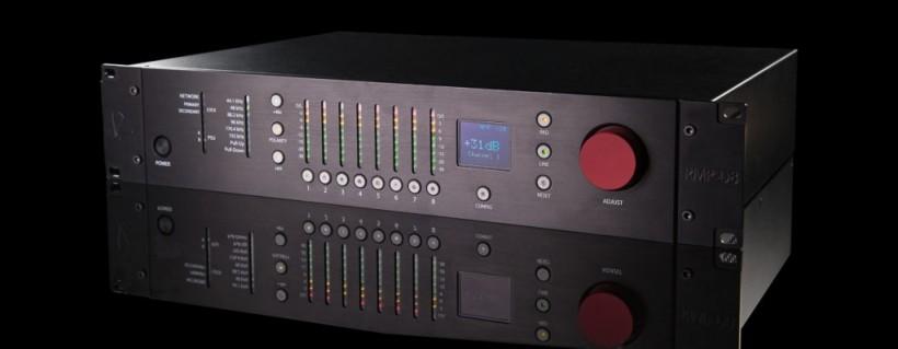 Rupert Neve Designs 发布针对舞台演出的 RMP-D8 八通道遥控 Dante 话放