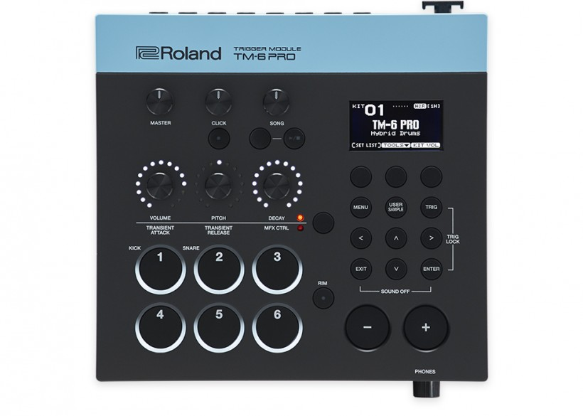 Roland 发布 TM-6 PRO Trigger Module 打击乐音源