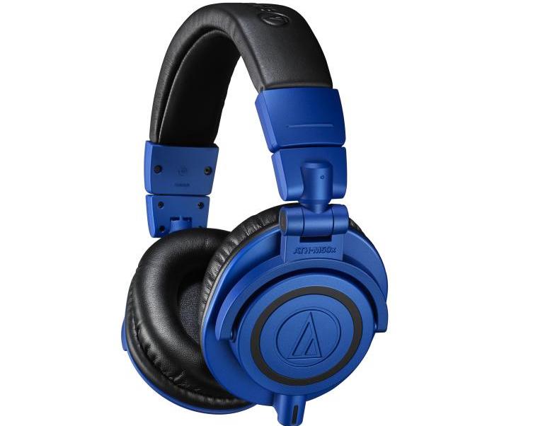 铁三角推出金属蓝+黑配色限量版 ATH-M50xBB 监听耳机