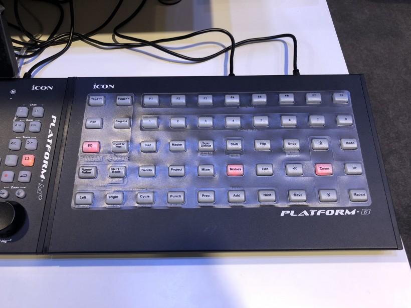 NAMM 2018 展会:iCON Platform B 矩阵按钮控制器一时间上手