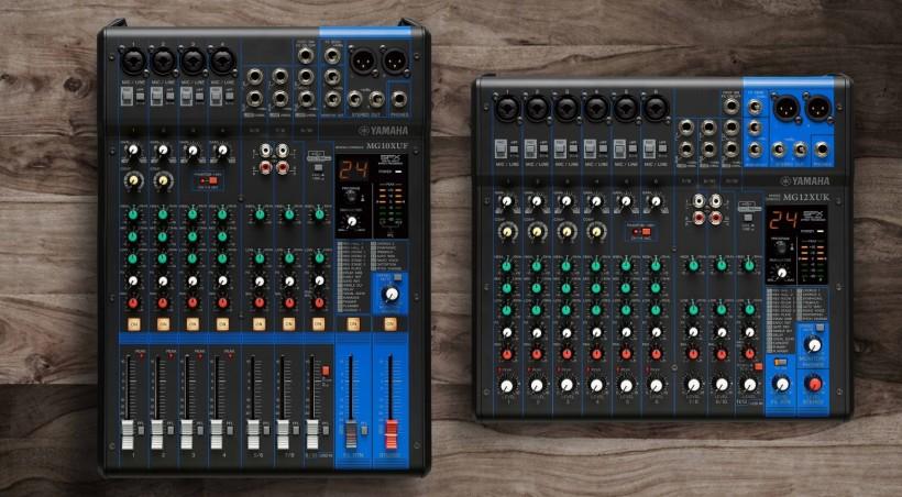 YAMAHA MG 系列模拟调音台再添新丁:MG10XUF 和 MG12XUK 发布