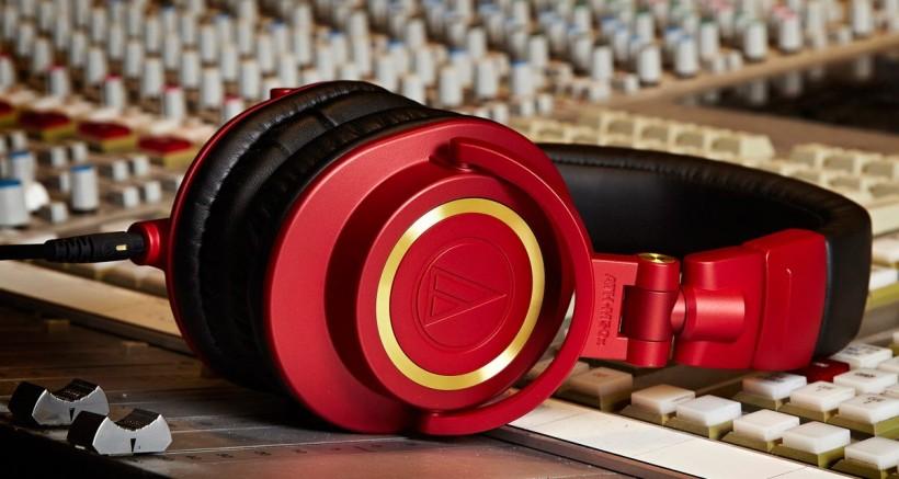 铁三角 ATH-M50xRD 红黑限量版监听耳机评测