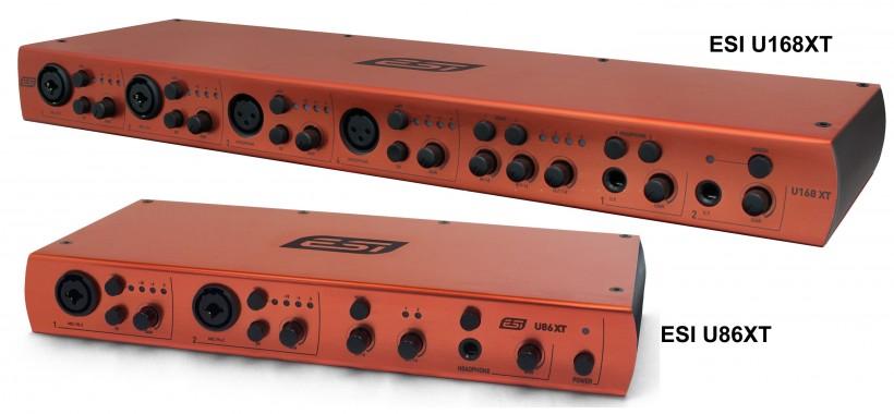 高扩展能力多接口桌面声卡 ESI U86 XT 评测