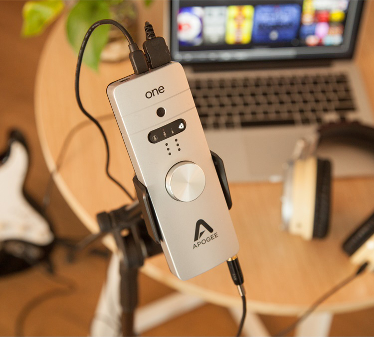 高品质音质的小强声卡——Apogee ONE