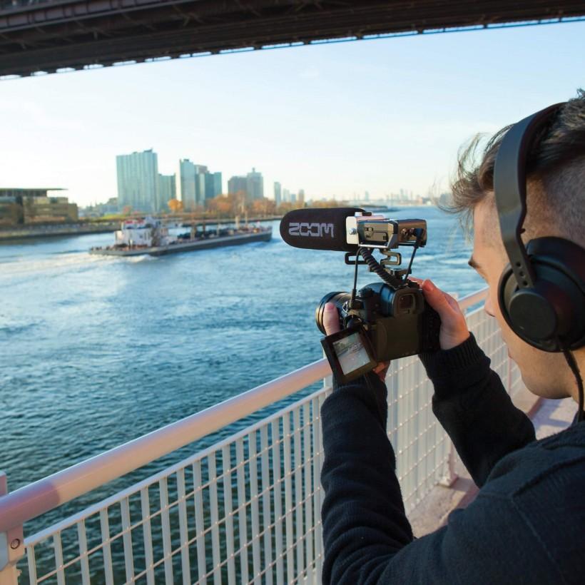 针对影片制作人和摄像师的 Zoom F1 外景录音机现已上市