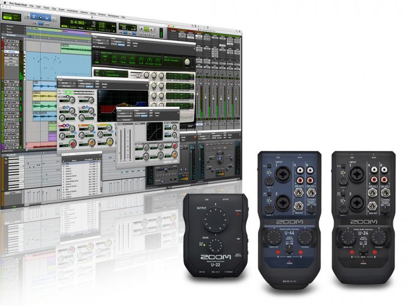 Zoom U 系列用户可免费获得 Pro Tools First 和一些额外的插件