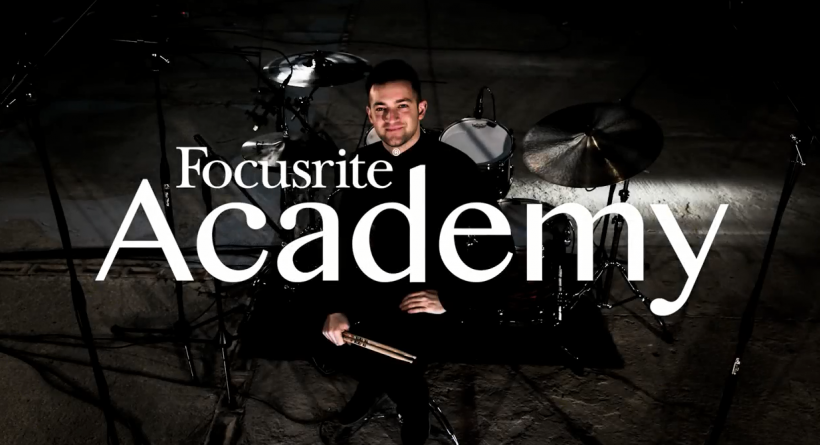 Focusrite 学院视频(一集):鼓组录音之前序