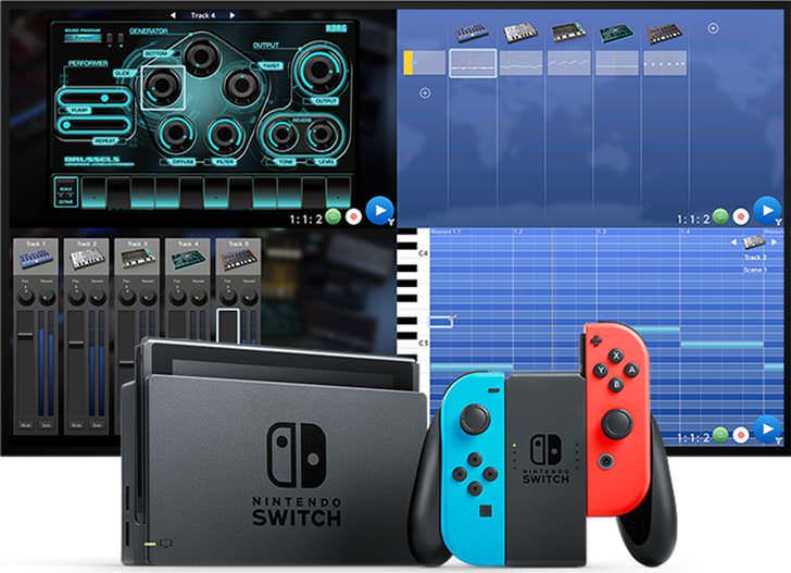 可以用任天堂 Switch 游戏机对战玩的音乐制作应用 Korg Gadget 将在三天后上线