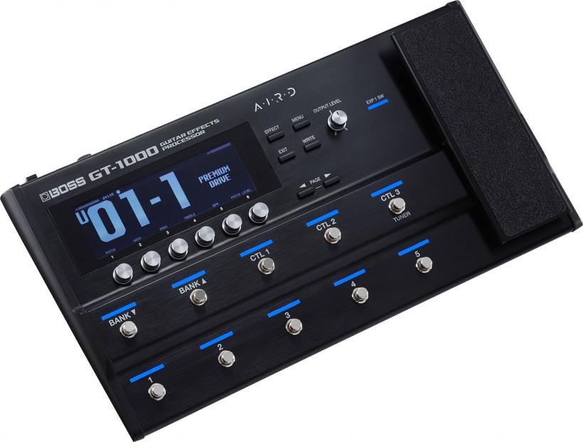 BOSS 旗舰级 GT-1000 吉他效果处理器已经上市