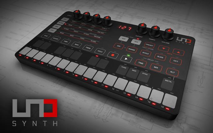 IK Multimedia 发布超便携模拟合成器 UNO Synth