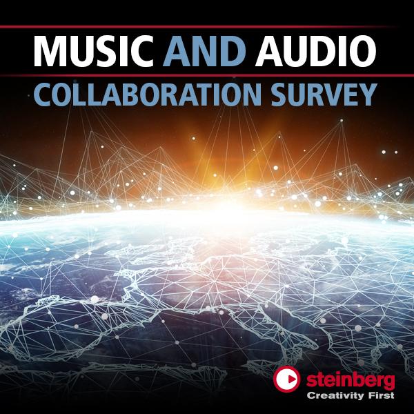 邀你参加:Steinberg 音乐和音频协作调查