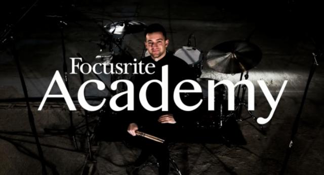 Focusrite 教学视频(第二集)鼓组录音之话筒使用