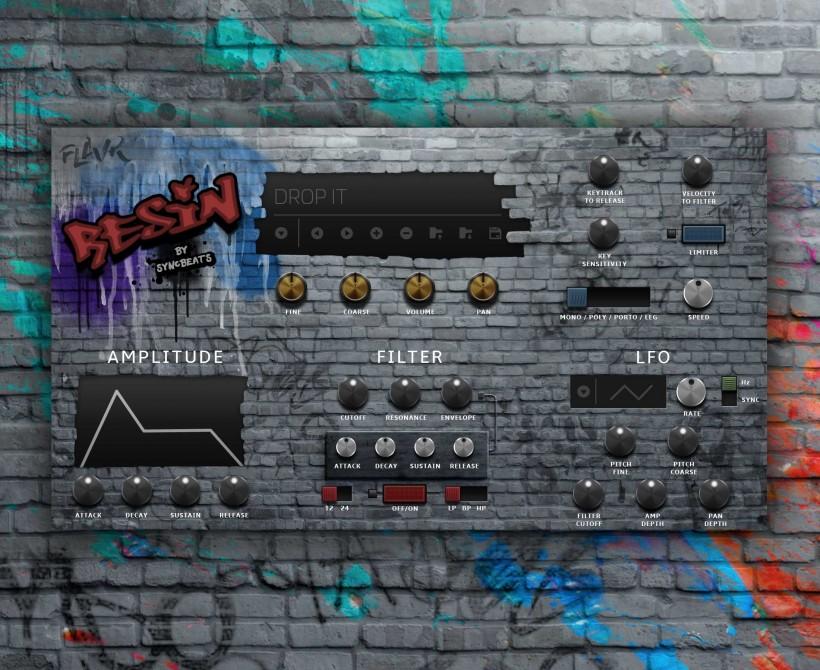 Roland Cloud 5.4 新乐器诞生:适合 Hip Hop 的 Resin 音源
