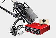 得胜PC-K850电容麦克风K歌录音方案