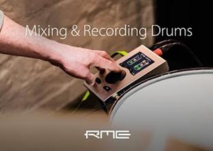 用 RME Babyface Pro 和 Octamic XTC 录音和混鼓