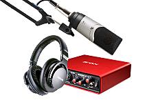 主播晋升网红设备艾肯MOBILE•U VST声卡K歌录音方案