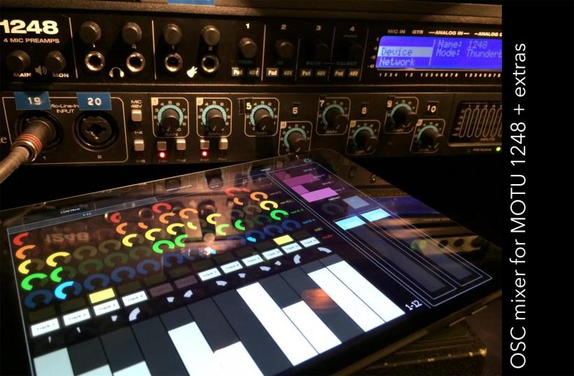 影视录音人的 马头MOTU 1248 音频接口测评