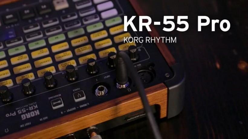 KORG KR-55 Pro 评测,Rhythm55的出色继承者