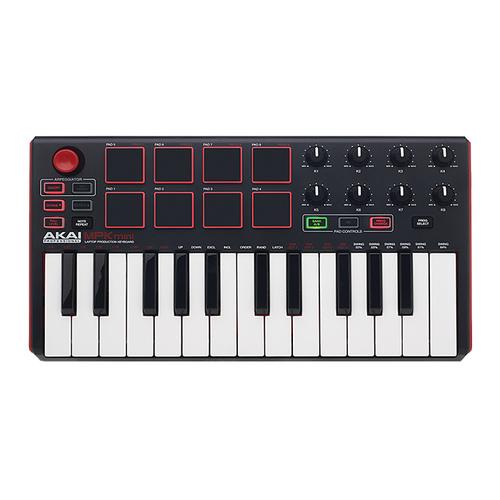 AKAI MPK mini mkII便携多功能MIDI键盘测评