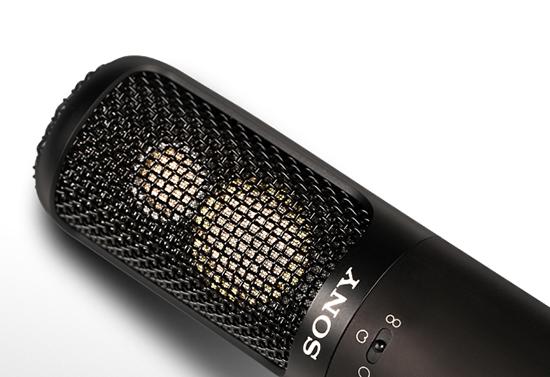 索尼SONY专业麦克风C-100玩转录音棚