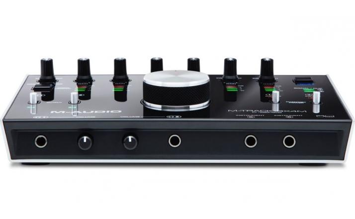 M-Audio 发布八进四出的 M-Track 8X4M 音频接口