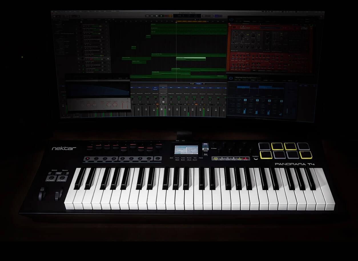 全新的音乐助力——Nektar T系列MIDI键盘控制器震撼上市