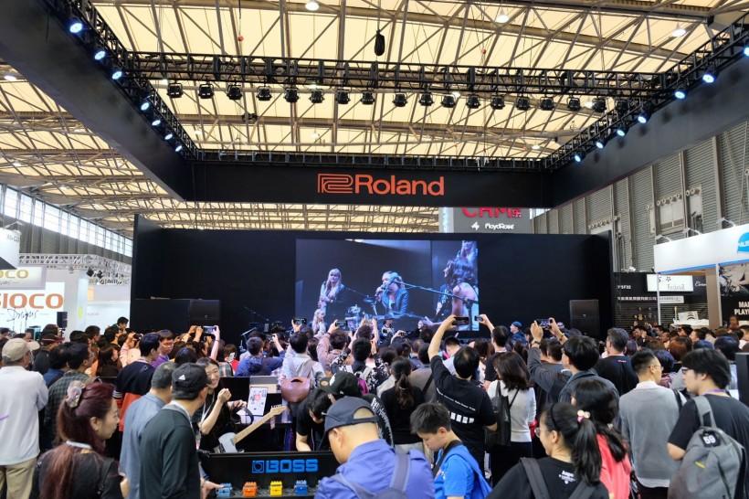 2018 上海乐器展创新步履不停, Roland 携最全阵容闪耀登场