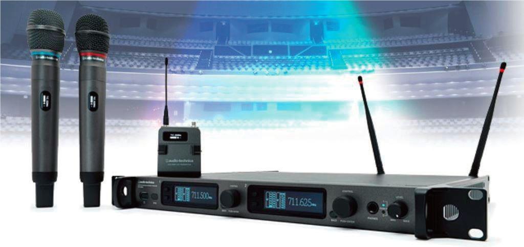 Audio-Technica 6000 系列新增手持式发射机