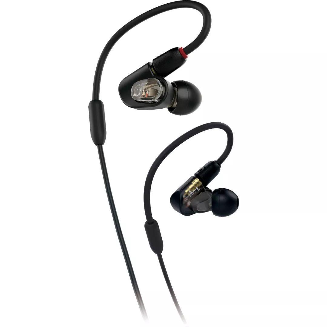 新品丨细腻设计,铁三角 ATH-E5O专业入耳式监听耳机