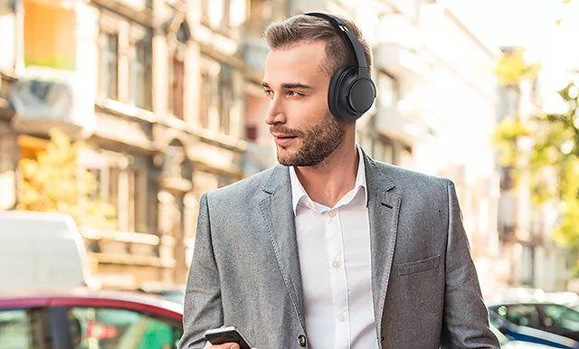 新品丨具备环境降噪功能 Audio Technica ATH-SR50BT无线耳罩耳机