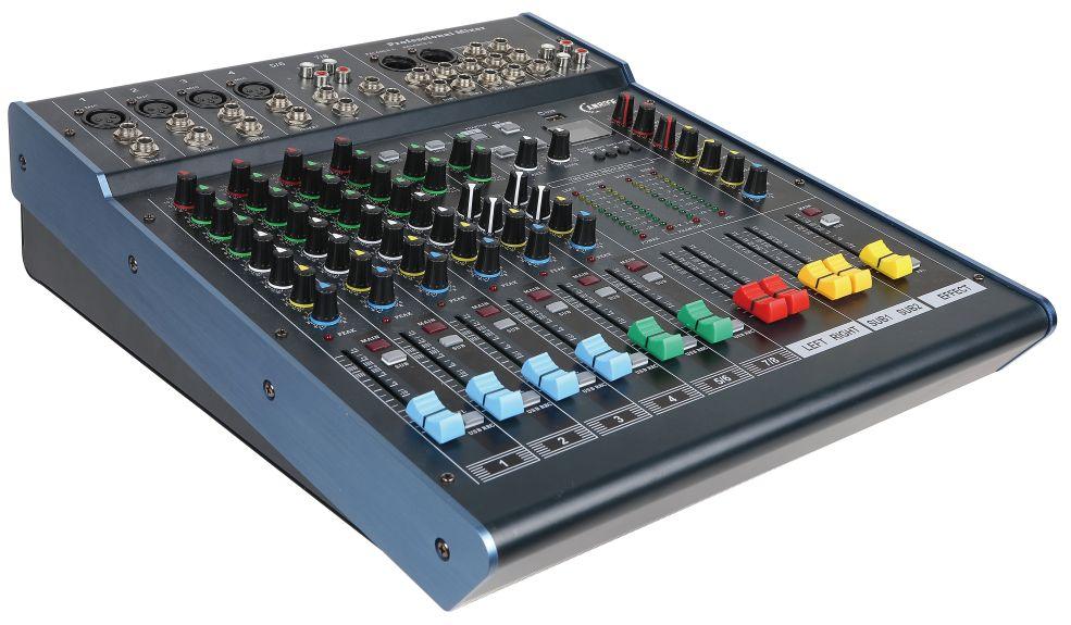 数码调音台的功能键及其信号流程