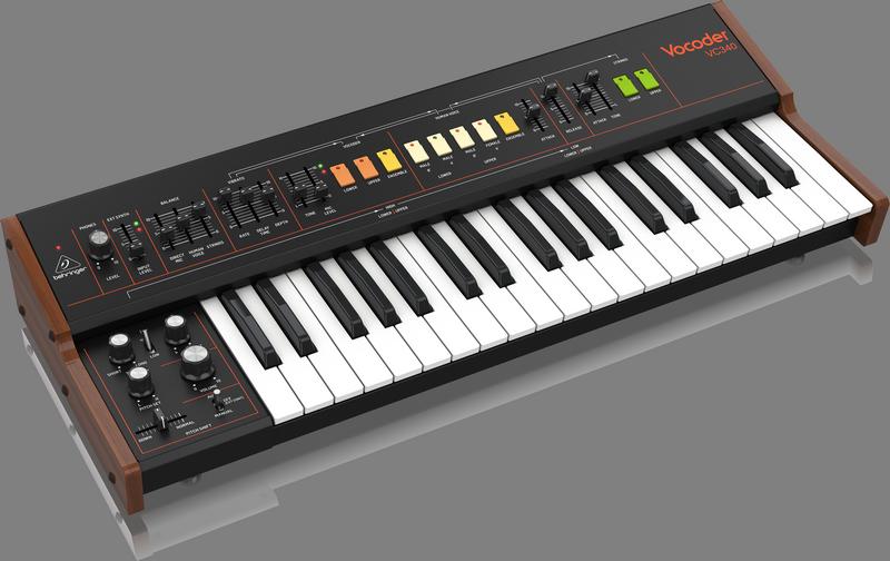 Behringer 正式发布向 Roland VP-330「致敬」的人声和弦乐合成器 VC340
